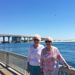 My mother and my aunt at Perdido Pass familytime beachhellip