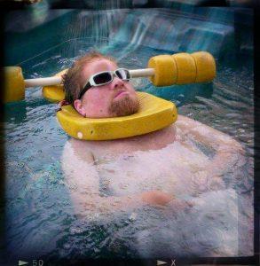 Loving the Hot Tub!