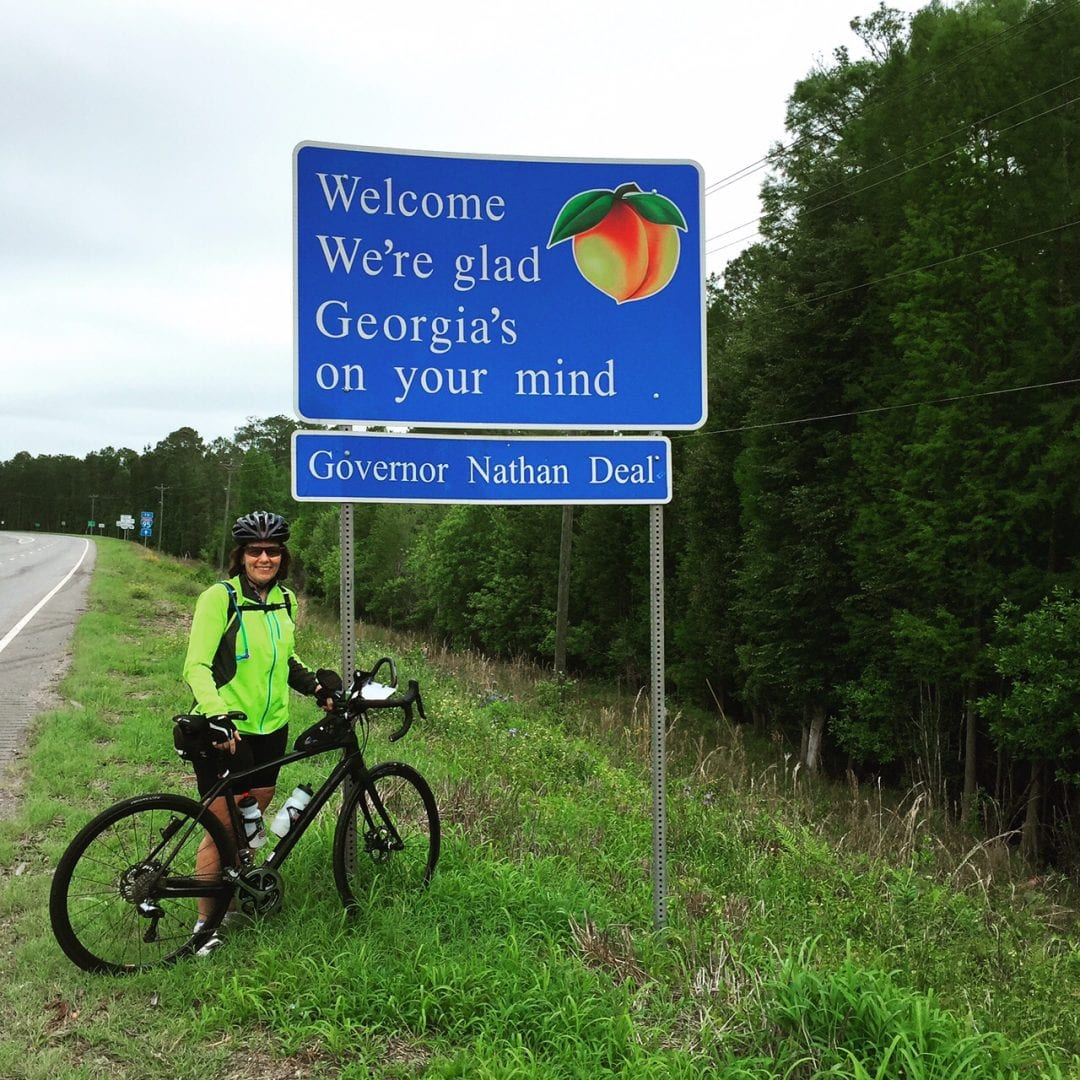 More than 400 miles after our state in Florida, we crossed into Georgia