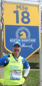 Running the Boston Marathon for JRDF