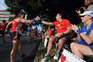 Feeling and Giving the Love at the 2014 Peachtree Road Race