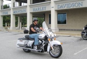 over 50 athlete, Harley