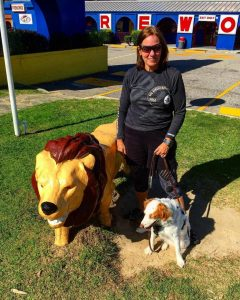 Stalking fake wild animals at South of the Border americanahellip
